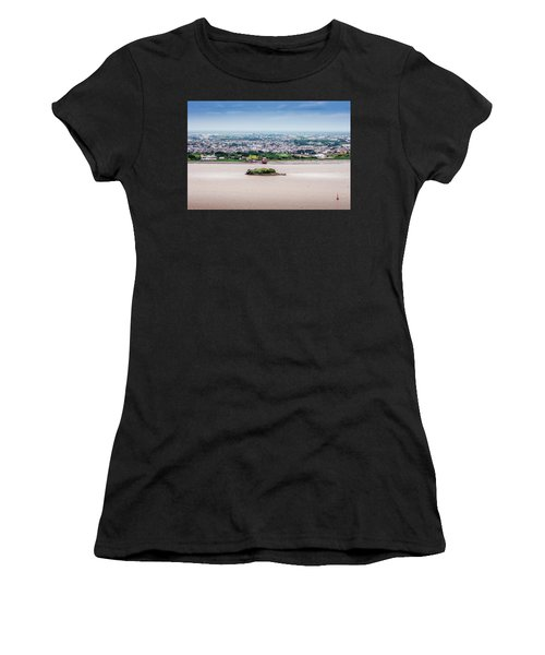 Island In The River Women's T-Shirt