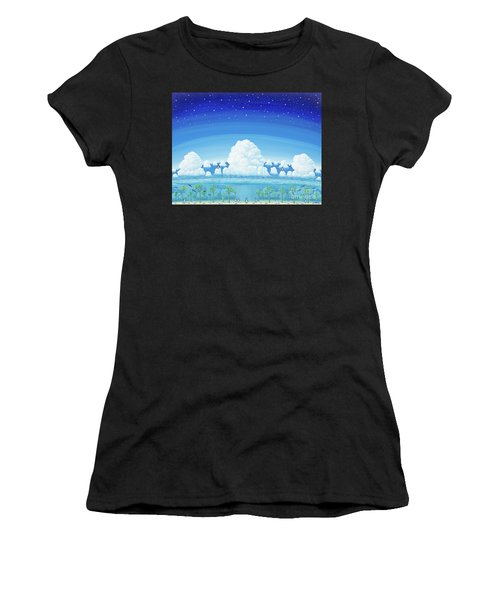 Islands Of Impermanence Women's T-Shirt