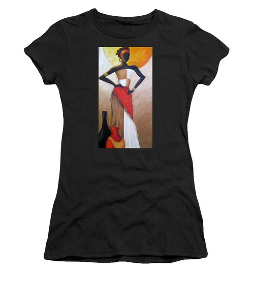Islands Of The Caribbean Women's T-Shirt (Athletic Fit)
