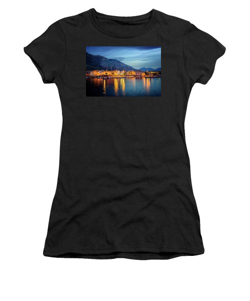 Isola Delle Femmine Harbour Women's T-Shirt (Athletic Fit)