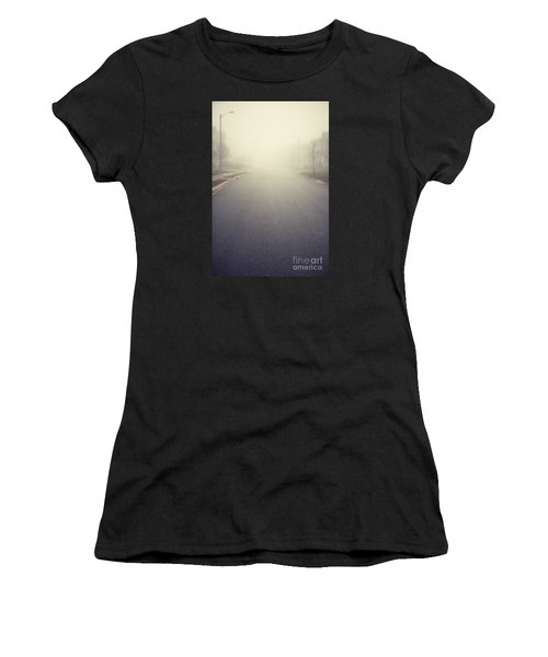 It Is Unclear What Lies Ahead Women's T-Shirt (Athletic Fit)