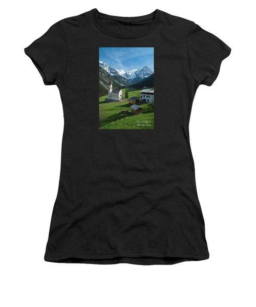 Italian Alps Hidden Treasure Women's T-Shirt (Athletic Fit)