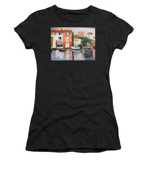 Italian Marina Women's T-Shirt (Athletic Fit)