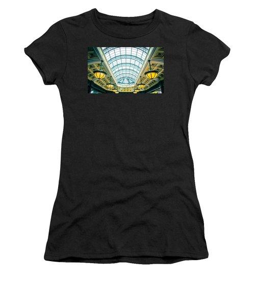 Italian Skylight Women's T-Shirt (Junior Cut) by Bobby Villapando