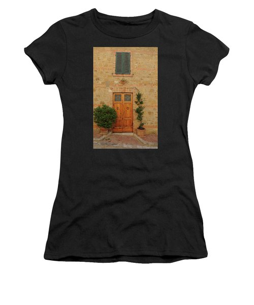 Italy - Door Nine Women's T-Shirt (Athletic Fit)