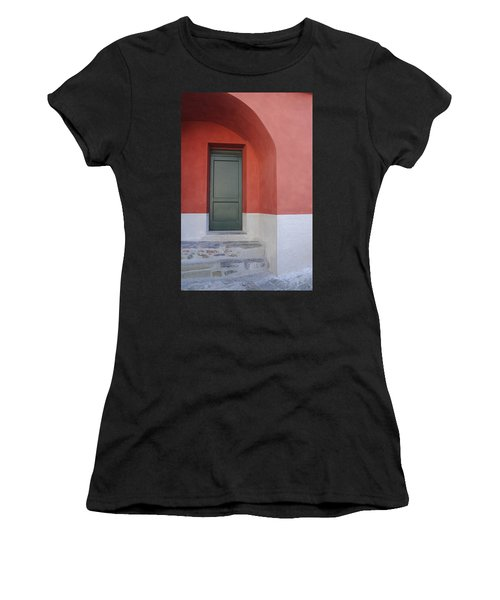 Italy - Door Two Women's T-Shirt (Athletic Fit)