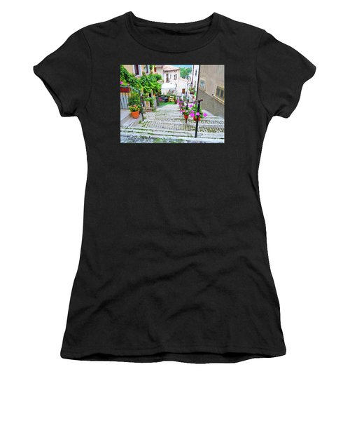 Italy In The Spring  Women's T-Shirt (Athletic Fit)