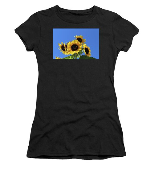 It's A Blue Sky Day Women's T-Shirt (Athletic Fit)