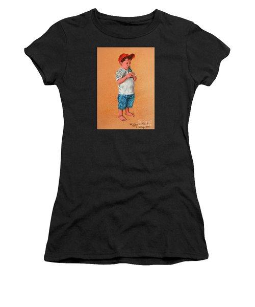 It's A Hot Day - Es Un Dia Caliente Women's T-Shirt (Athletic Fit)