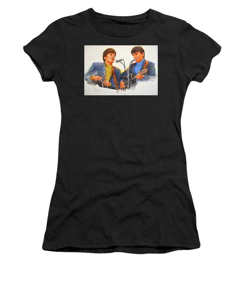 Its Rock And Roll 4  - Everly Brothers Women's T-Shirt