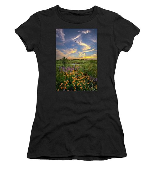 It's Time To Relax Women's T-Shirt (Athletic Fit)