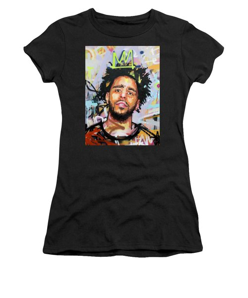 J Cole Women's T-Shirt (Athletic Fit)