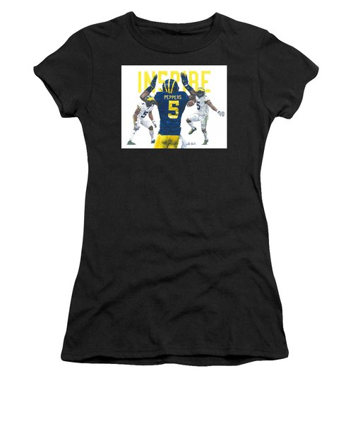 Jabrill Peppers Women's T-Shirt (Athletic Fit)