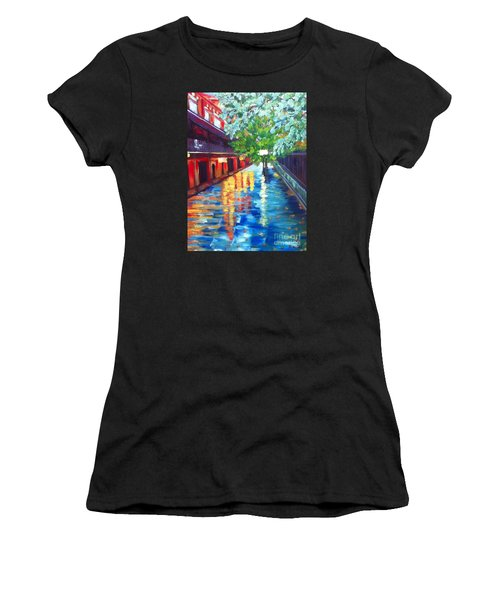 Jackson Square Reflections Women's T-Shirt (Athletic Fit)