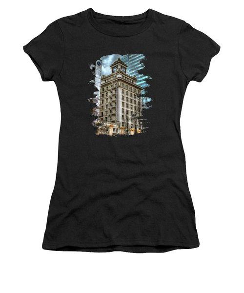 Jackson Tower Portland Oregon Women's T-Shirt