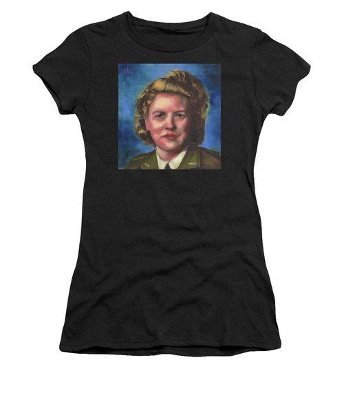 Jacqueline Cochran Women's T-Shirt (Athletic Fit)
