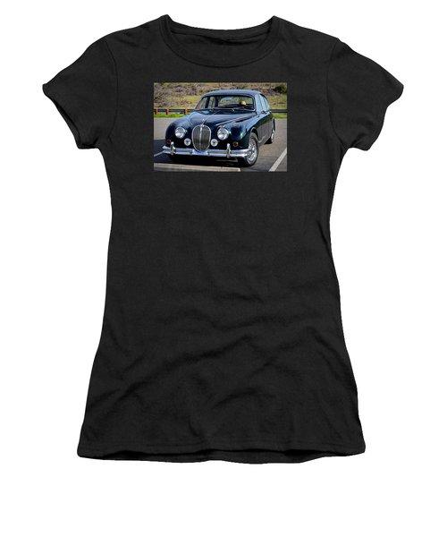 Women's T-Shirt (Junior Cut) featuring the photograph Jag by AJ Schibig
