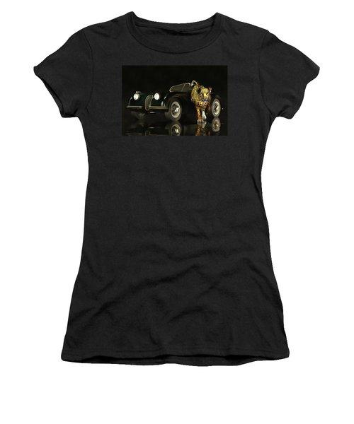 Jaguar Mk 3 Women's T-Shirt (Athletic Fit)