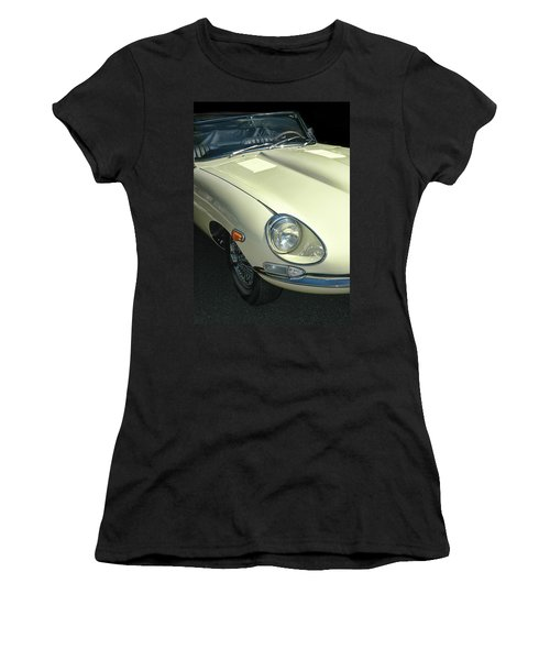 Jaguar Xke Roadster Women's T-Shirt (Athletic Fit)
