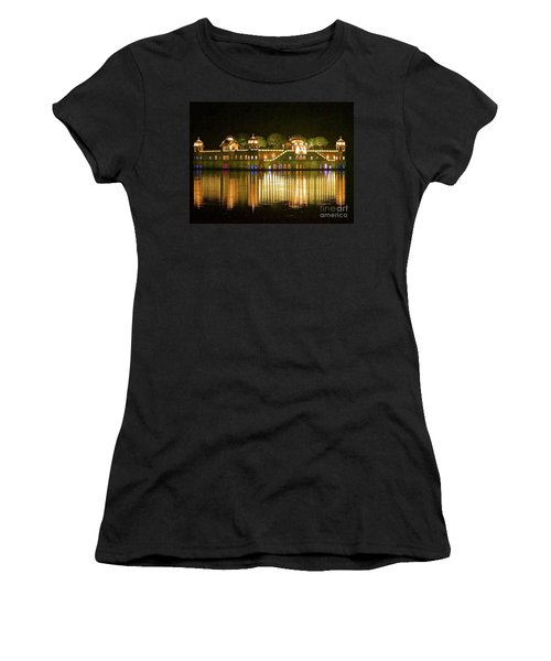 Jal Palace At Night Women's T-Shirt (Athletic Fit)