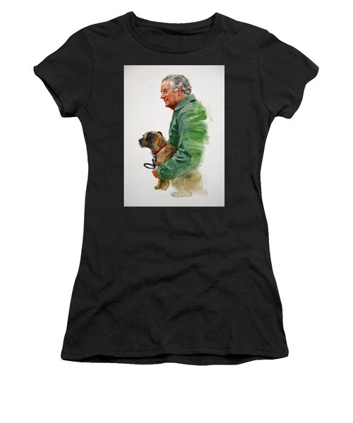 James Herriot And Bodie Women's T-Shirt (Athletic Fit)