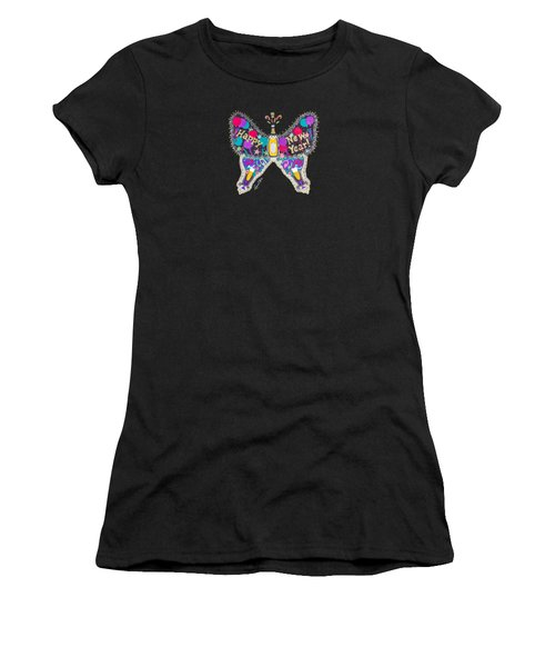 January Butterfly Women's T-Shirt (Athletic Fit)