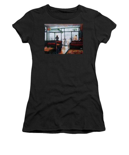 January, Morning Break Women's T-Shirt (Athletic Fit)