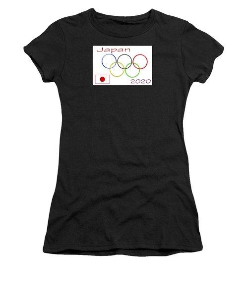 Japan Olympics 2020 Logo 3 Of 3 Women's T-Shirt (Athletic Fit)