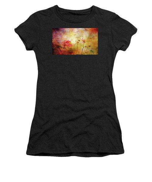 Japanese Anemone Landscape 3959 Idp_2 Women's T-Shirt