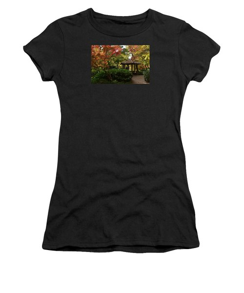 Japanese Gardens 2577 Women's T-Shirt (Athletic Fit)