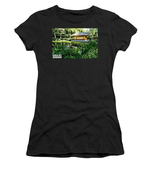 Japanese Gardens II Women's T-Shirt (Athletic Fit)