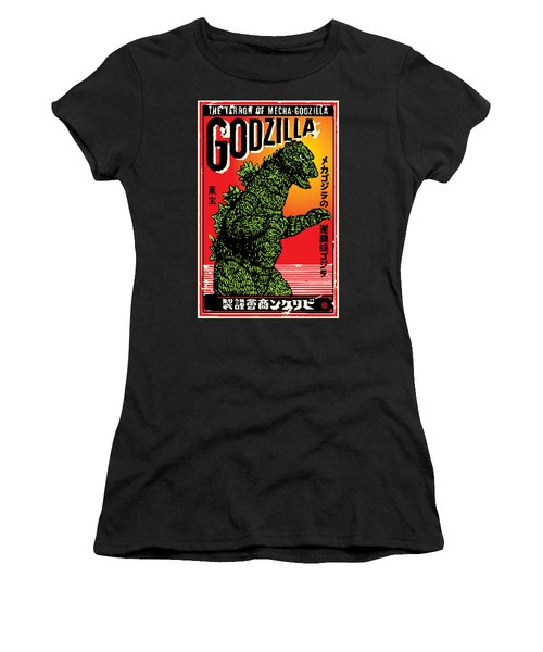 Japanese Godzilla  Women's T-Shirt
