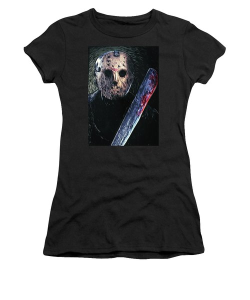 Jason Voorhees Women's T-Shirt (Athletic Fit)