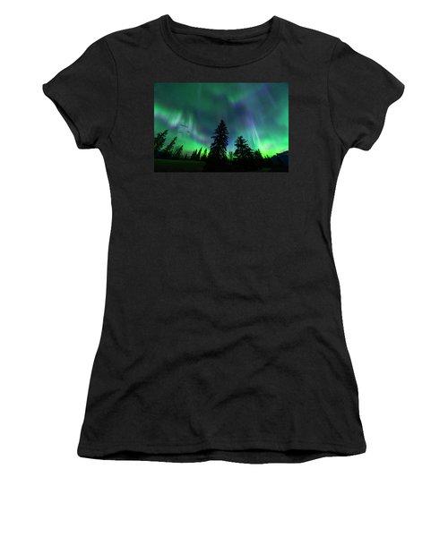 Jasper National Park Aurora Women's T-Shirt