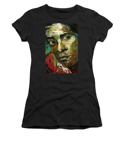 Jean-michel Basquiat Women's T-Shirt (Athletic Fit)