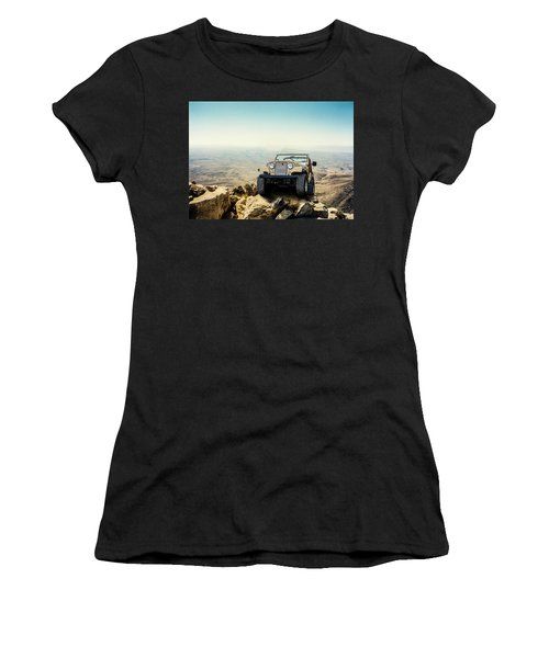 Jeep On A Mountain Women's T-Shirt