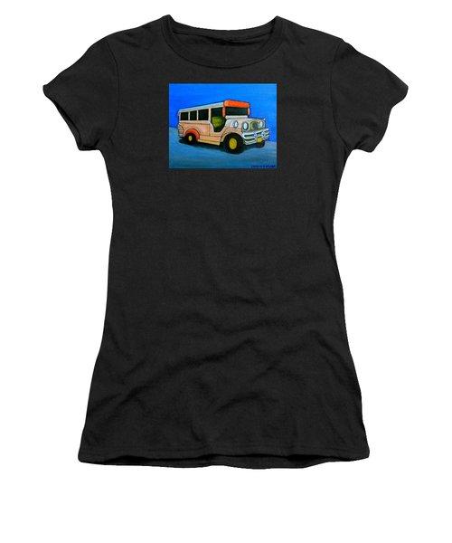 Jeepney Women's T-Shirt (Athletic Fit)