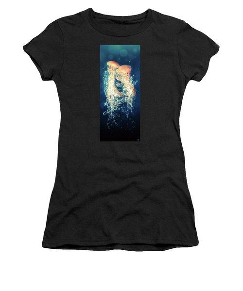 Jellies Women's T-Shirt (Junior Cut) by Kenneth Armand Johnson