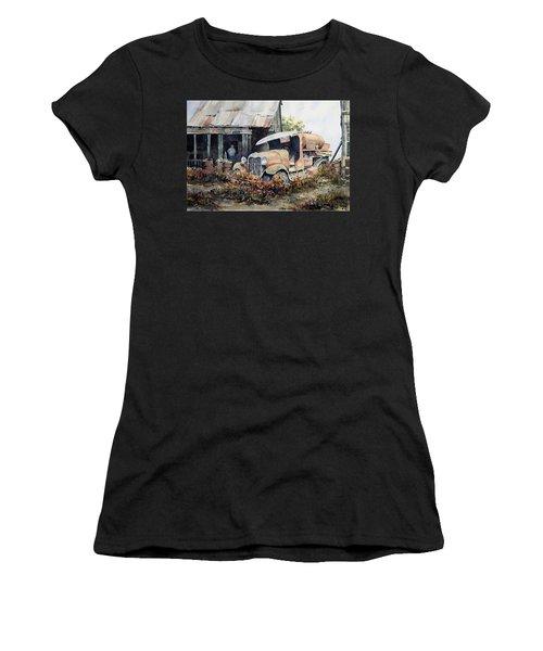 Jeromes Tank Truck Women's T-Shirt
