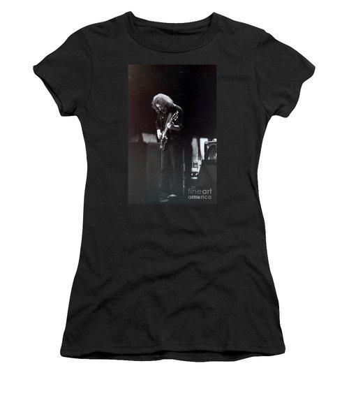 Women's T-Shirt (Junior Cut) featuring the photograph Morning Dew by Susan Carella