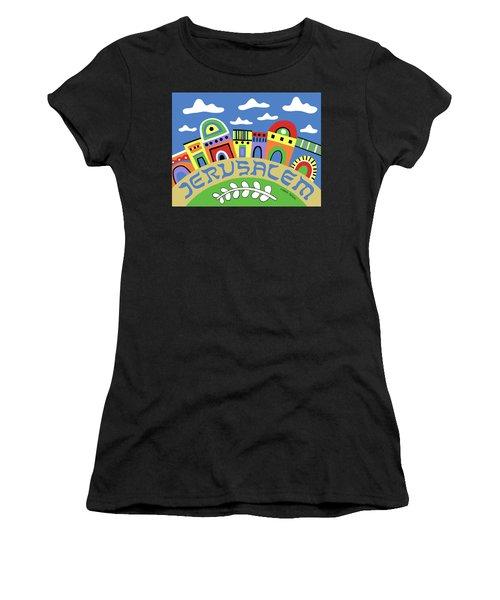 Jerusalem Women's T-Shirt (Athletic Fit)