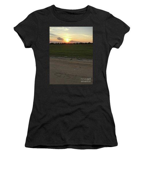 Jesus Healing Sunset Women's T-Shirt