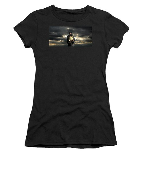 Jesus In The Clouds Women's T-Shirt