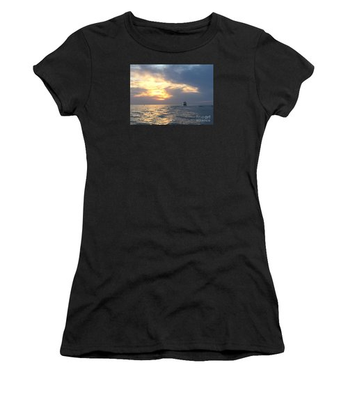 Watching Over The Inlet Women's T-Shirt