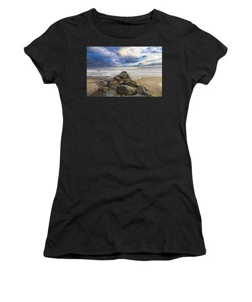 Jetty Four Cloudscape Women's T-Shirt (Athletic Fit)