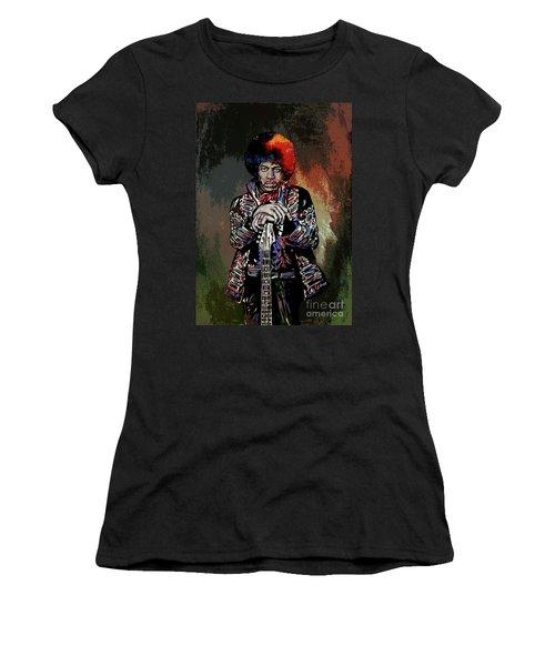 Jimi  Women's T-Shirt (Athletic Fit)