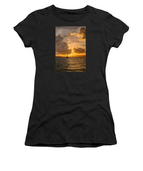 Jimmy Buffet Sunrise Women's T-Shirt (Athletic Fit)