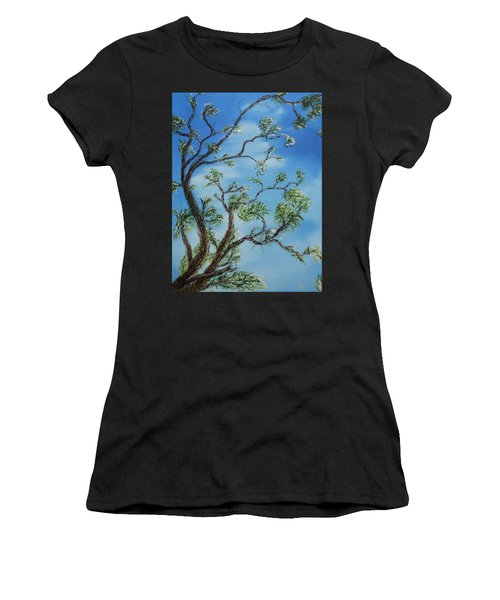 Jim's Tree Women's T-Shirt (Athletic Fit)
