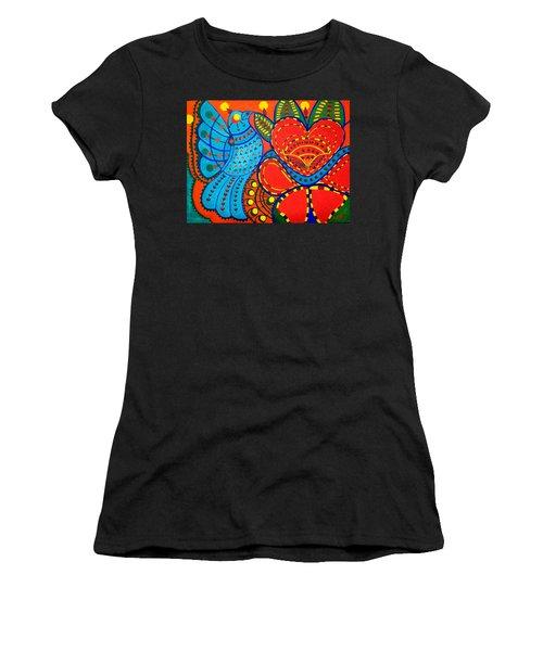 Jinga Bird - Jinga Bird Series Women's T-Shirt (Athletic Fit)