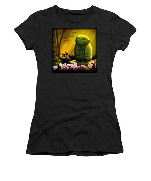Jizo Bodhisattva Women's T-Shirt (Athletic Fit)